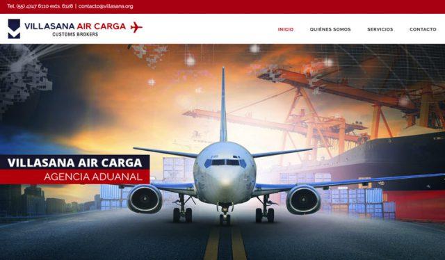 Diseño de páginas Web Creativas Agente Aduanal